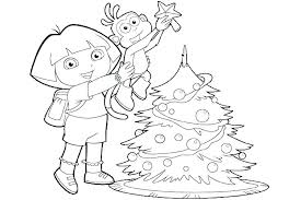 Dora The Explorer Colouring Pages Pdf Coloring Page Exciting