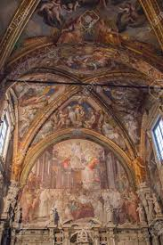 Italy Florence December 24 2016 The View Of The Frescoes