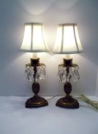 buffet lamps set pair of vintage brass crystal pineapple table lamps set of brass crystal lamps buffet lamps set table