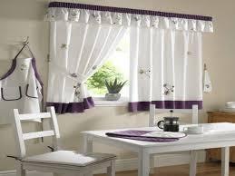 the purple kitchen curtains ideas