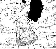 Fascinating Moana Coloring Pages Pdf Disney Stock Photos Hd