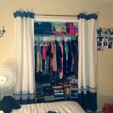 Curtains For Closet Doors Ideas Diy Door Bedroom