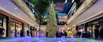 Christmas Lights Fix It Shop Road Festive Decorative Lighting For Shopping Centers And Malls