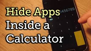 Innocent Apps to Calculator On A Seemingly Within Hide how Android ZPqwPYx