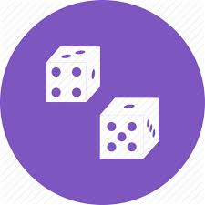 Backgammon Dice Odds Chart Dice Icon At Getdrawings Com Free Dice Icon Images Of