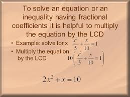 Coefficient Frayer Model Fractional Coefficients Ppt Download