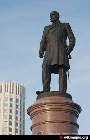 Monument to Prime Minister of Russia Pyotr Stolypin - Moscow