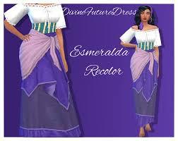 love 4 cc finds — samssims: Divine Future Dress Esmeralda Recolor~ ...