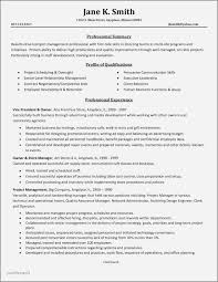 Example Project Manager Resume With Objective Best Of Project