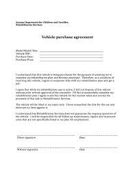 A motor vehicle bill of sale form is a document that details the terms of the sale of a vehicle between a buyer and seller. 42 Printable Vehicle Purchase Agreement Templates ᐅ Templatelab