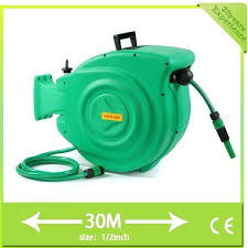 automatic water hose reel anyone who have handled garden hose