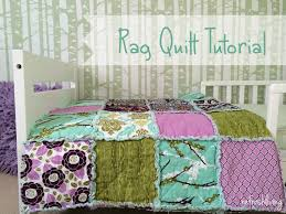 Rag Quilt Tutorial - Refresh Living & rag quilt tutorial directions Adamdwight.com
