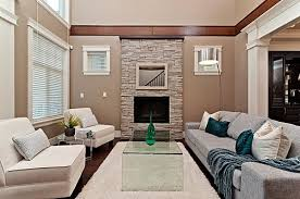 Living Room:Modern Living Room With Stone Fireplace Surprising Modern Living  Room With Stone Fireplace
