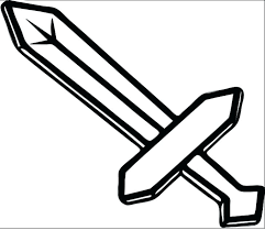 Minecraft Coloring Pages Creeper Minecraft Coloring Pages Sword