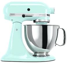 kitchenaid mixer 600 volt artisan stand ice blue cobalt watt kitchenaid mixer 600