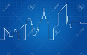 architecture blueprints skyscraper. City Skyscrapers Skyline Architectural Blueprint Stock Vector - 25320602 Architecture Blueprints Skyscraper