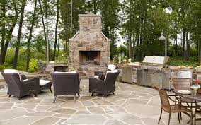 outdoor patio patio with fireplace and outdoor kitchen designs pertaining to extraordinary outdoor kitchen and