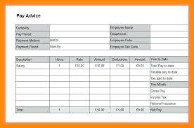 Download Payslip Template Best Free Payslip Template Uk Excel 44 Templates Tairbarkayco