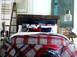 denim comforter full king size tommy hilfiger ralph lauren queen good vintage plaid with home improvement