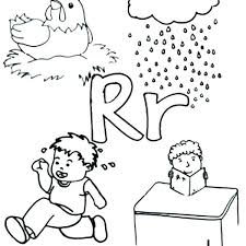 Letter X Coloring Page The Letter R Coloring Page R Coloring Page