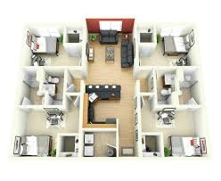 awesome simple 4 bedroom house plans and apartments simple 4 bedroom house designs plans free bedrooms