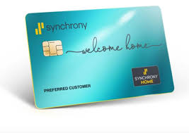 synchrony home credit card launches
