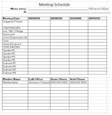 sample meeting schedule meeting schedule template 10 free templates schedule templates
