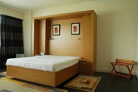 modern murphy beds ikea. Bedroom : Furniture Modern Murphy Bed Ikea And Varnished Mahogany Wood Wall Hide Using White Linen In Ivory Painted Also Beds