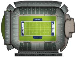 Los Angeles Chargers Seating Chart Denver Broncos At Los Angeles Chargers At Dignity Health