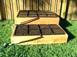 3 tiered cedar raised garden bed kit elevated beds awesome i deer proof complete kits