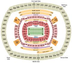 Ny Giants Seating Chart With Rows Metlife Stadium Tickets With No Fees At Ticket Club
