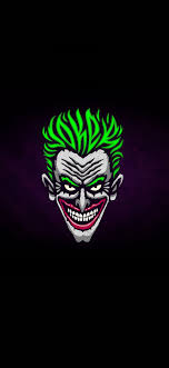 1125x2436 wallpaper joker, face ...