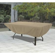 rectangular patio furniture covers. Classic Accessories Terrazzo Rectangular/Oval Patio Table Cover \u2014 All Weather Protection Outdoor Furniture Rectangular Covers R