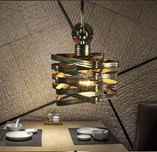 stg lighting iron cage steampunk style wall lamp sconces vintage wall lighted on bedside lamp ul plug in cord bulbs not included a type
