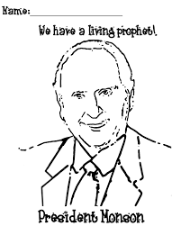 Free Lds Clipart To Color For