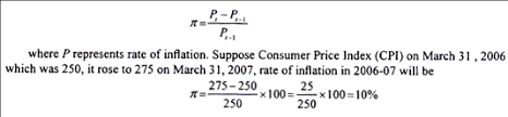 essay on inflation meaning measurement and causes thus rate of inflation during 2006 07 will be 10 per cent this is called point to point inflation rate there are 52 weeks in a year average of price