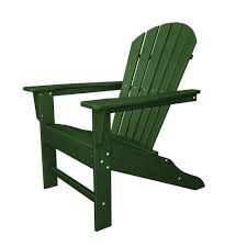 south beach recycled plastic adirondack chair polywood outdoor plastic furniture green