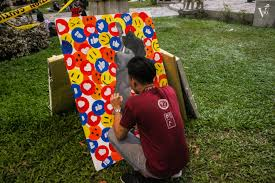 UST on-the-spot painting contest highlights artists' freedom of expression  | The Varsitarian