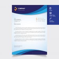 What Is Professional Letterhead Professional Letterhead Template Vector Premium Download