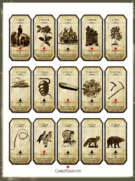 lenormand flashcards 1 15