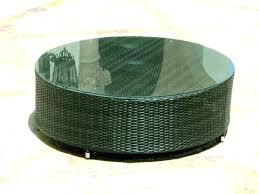 round rattan coffee table wicker storage coffee table rattan coffee table with storage resin wicker coffee