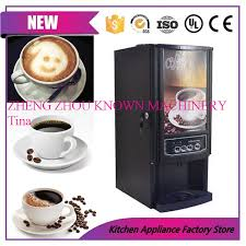 Mini Drink Vending Machine Amazing 48 Different Drinks Mini Instant Automatic Coffee Maker Commercial