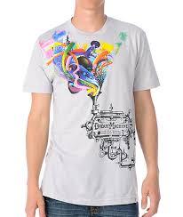 Imaginary Foundation Dream Machine Silver T Shirt Zumiez