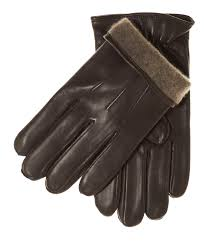 men s italian lambskin cashmere lined winter leather gloves