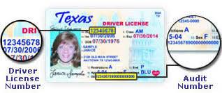 amp; Find To Texas How Dl Audit Number