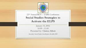 Elps Flip Chart A Handy Book For Academic Language Instruction January 15 30 11 45 Presented By Clarissa Abbott Ppt