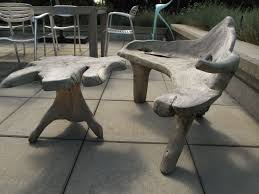 Furniture Made with Driftwood | For Sale: Custom Driftwood Outdoor Chair +  Table | Revision
