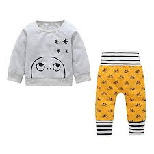 Lkmt Charts Amazon Com Baby Boys Clothes Set Long Sleeve Sweatshirt
