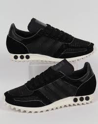 adidas la trainer. adidas la trainer og trainers black/black/grey la