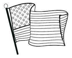 Printable American Flag Coloring Page Coloring Pages Flag Printable